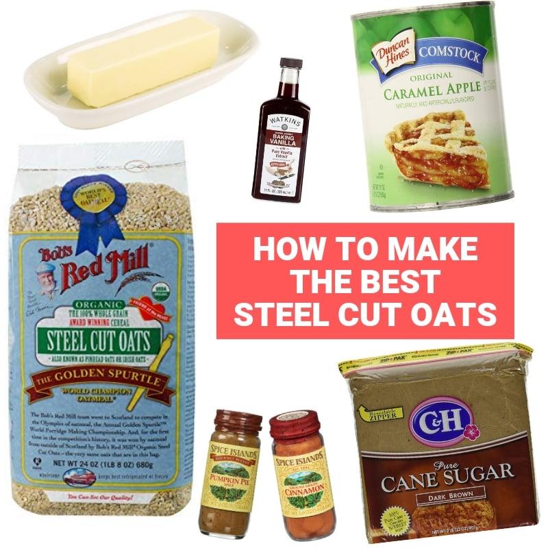 steel cut oats ingredients