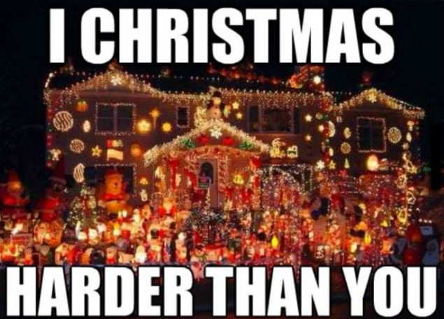 christmas lights meme