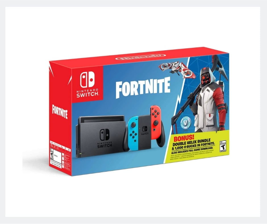 fortnite switch bundle - fortnite gift ideas