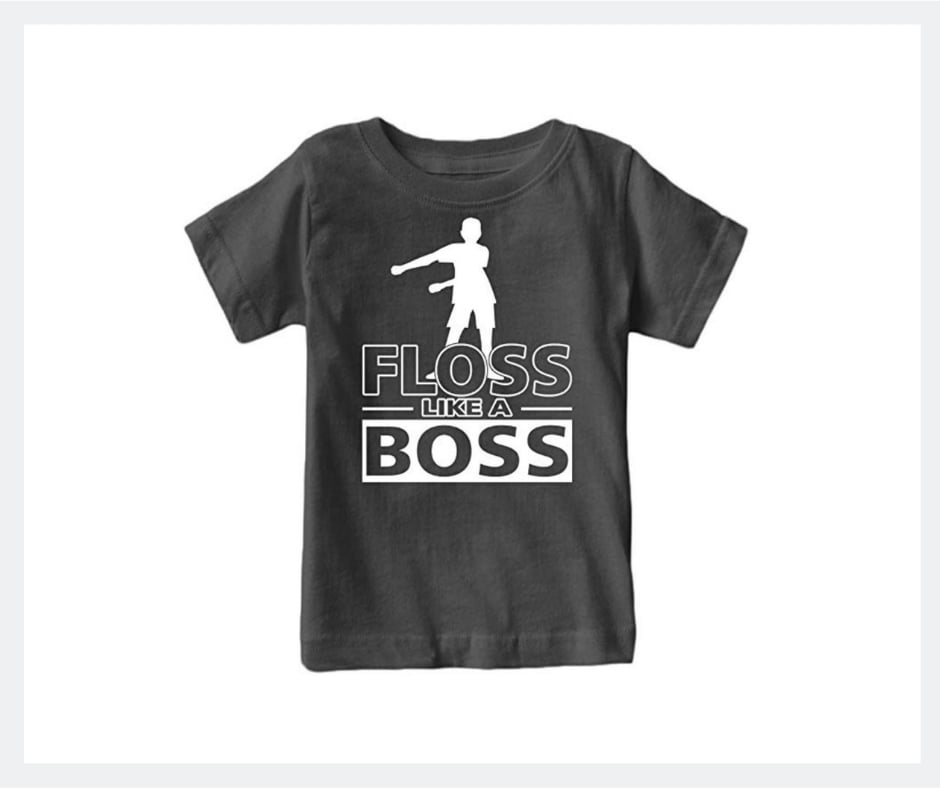 floss like a boss fortnite shirt