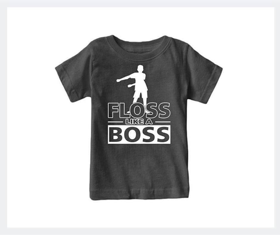 floss like a boss fortnite shirt