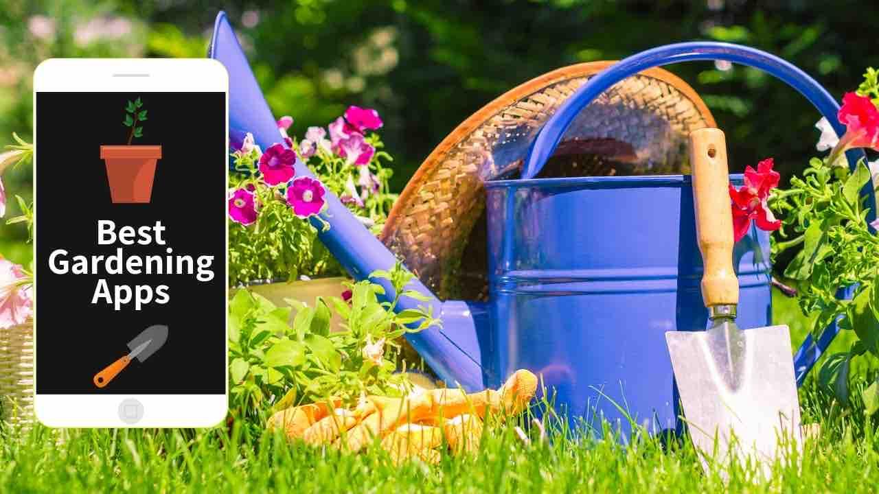 garden planning and plant identifier apps