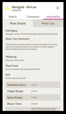 gardening app growit - garden planning app