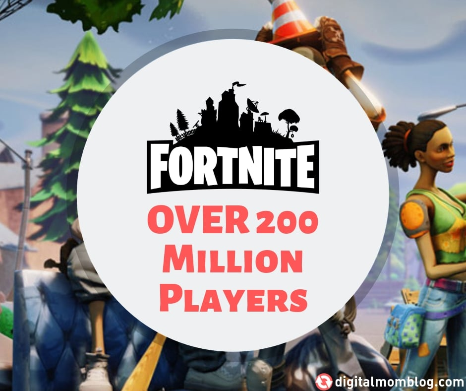 How many people play fortnite? Over 200 million players