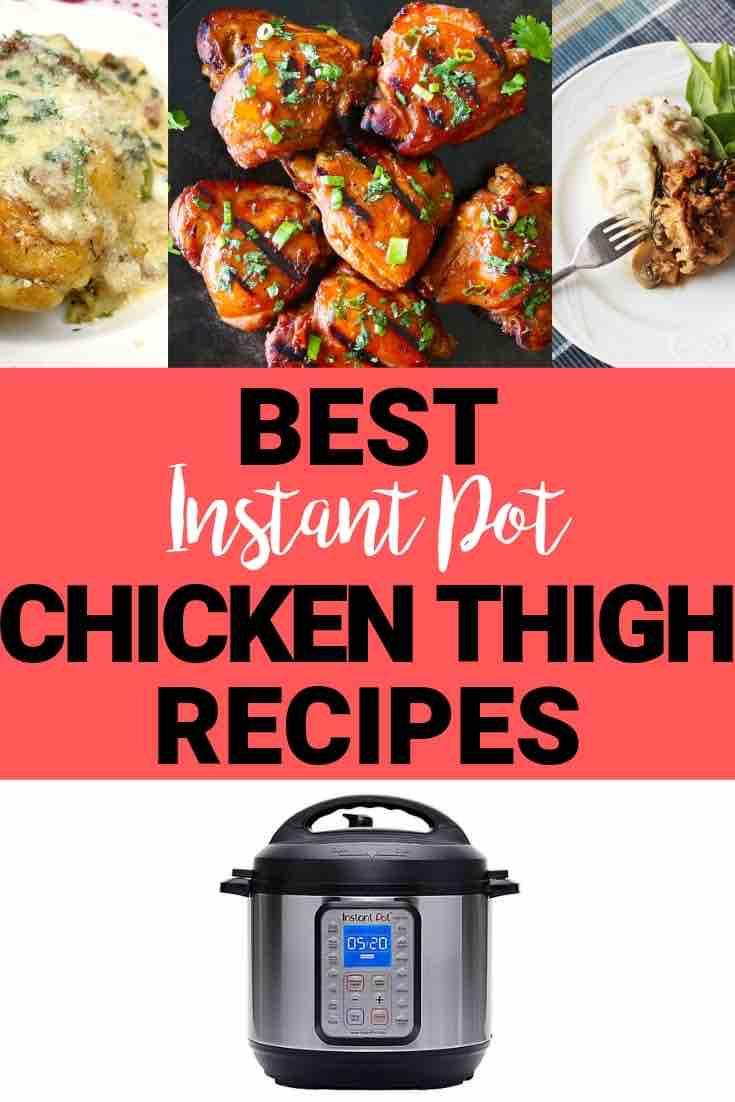 Recipes Instant Pot Chicken Thighs