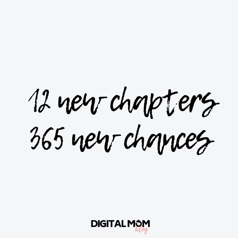 12 new chapters 365 new chances