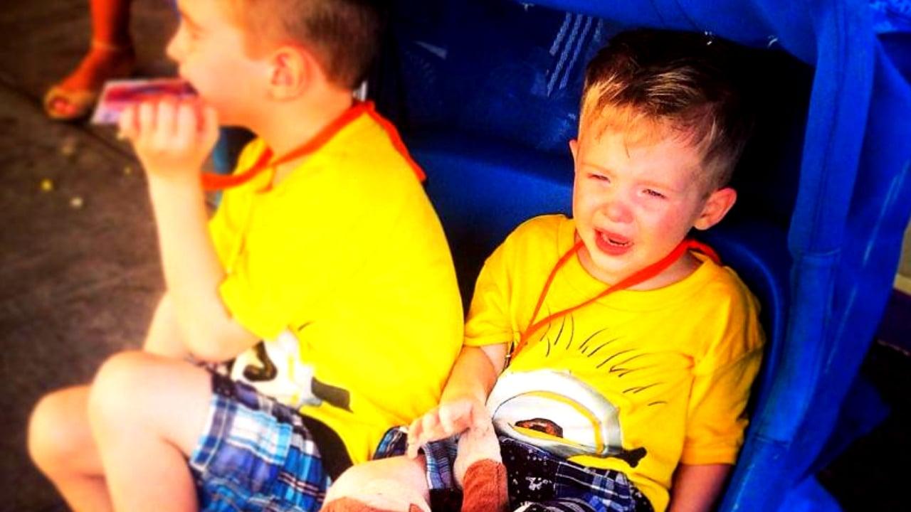 toddler temper tantrums and screaming