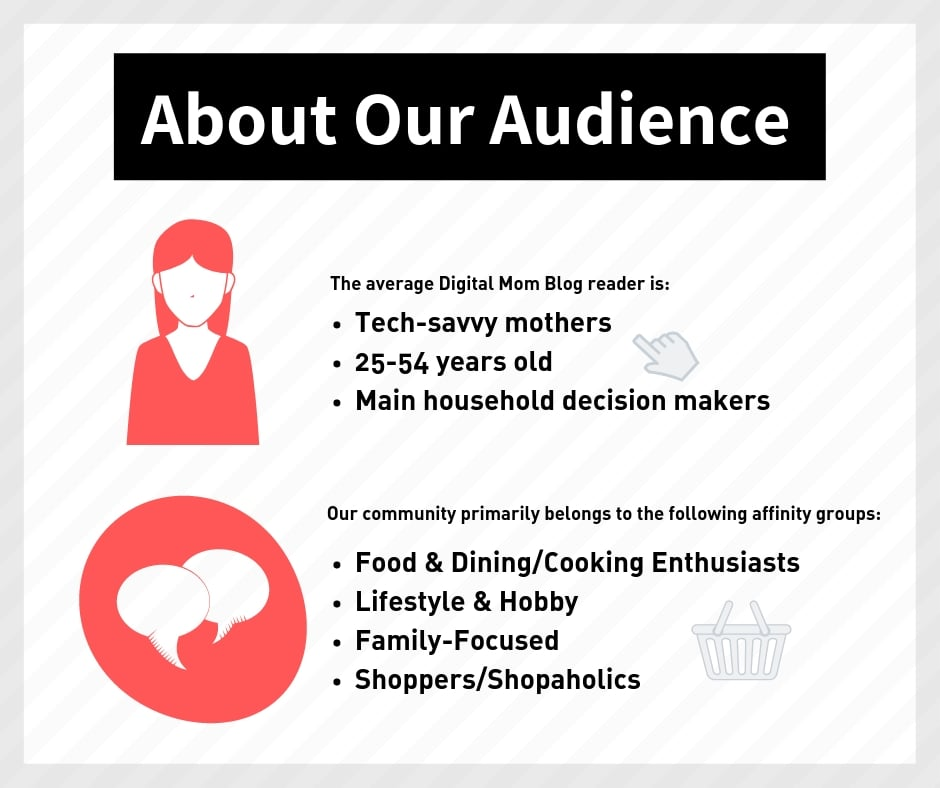 digital mom blog about our audience