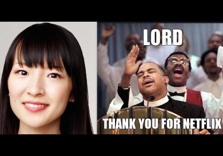 Lord, Thank you for Netflix! Marie Kondo Tidying Up Netflix