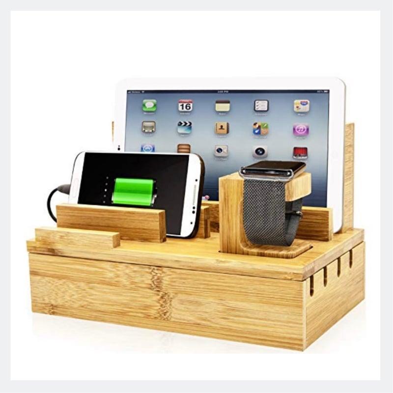 nightstand charging station