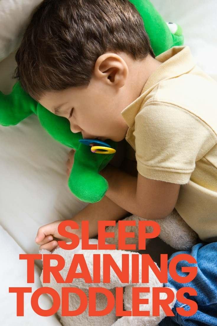 sleep training toddlers