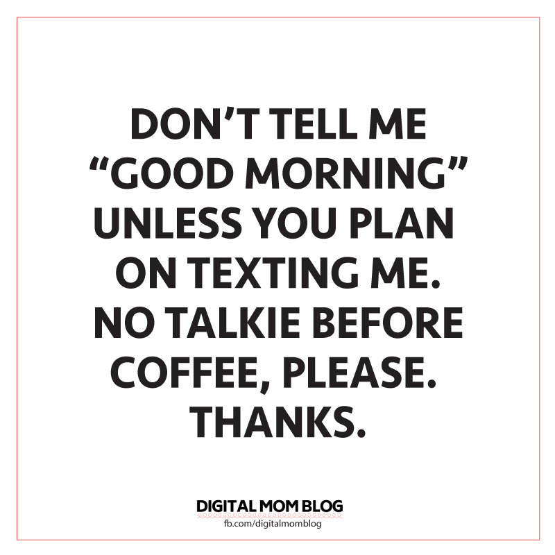 good morning text meme