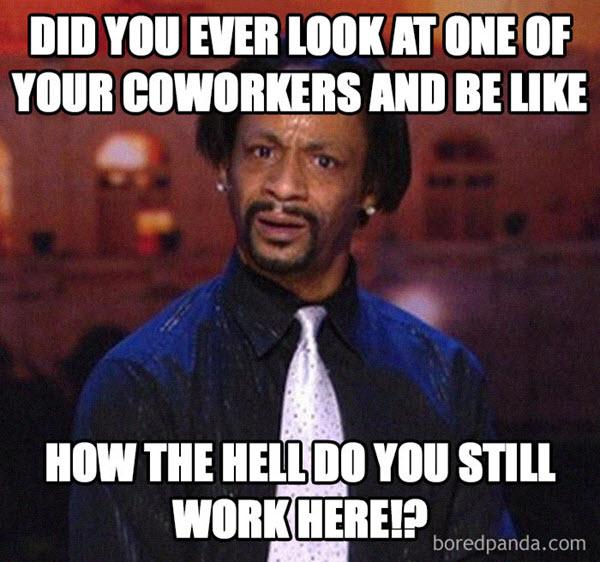 bad coworker meme