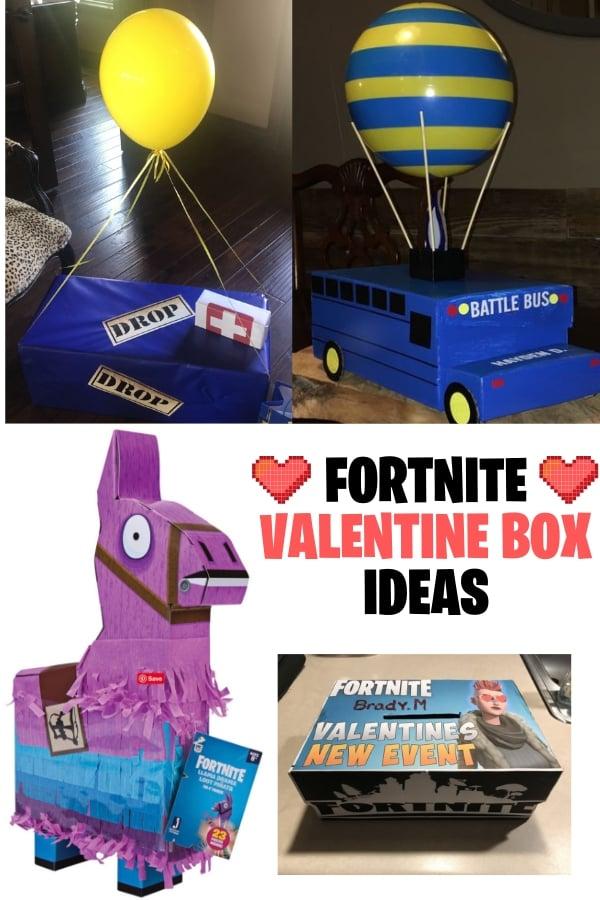 fortnite valentine box ideas