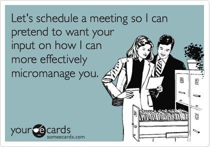 job memes work meeting