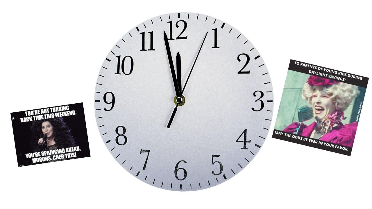 best memes about daylight savings time