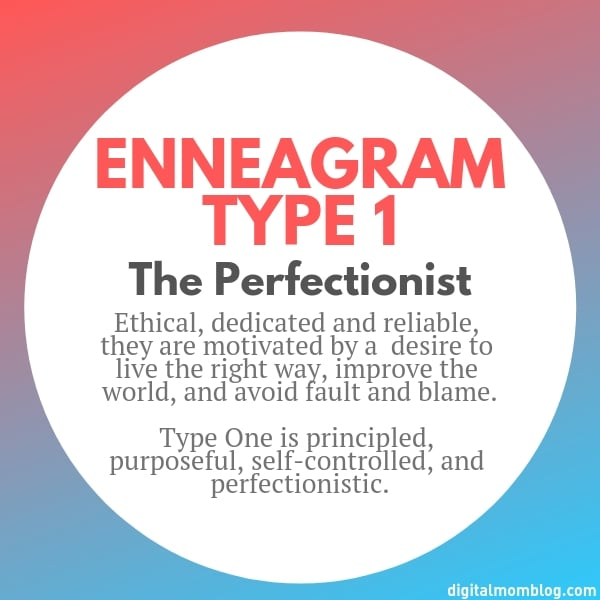 About Enneagram Type 1