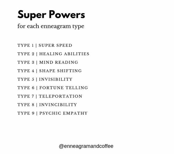 enneagram super powers