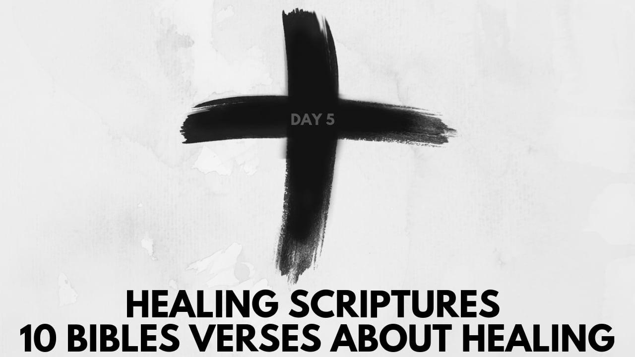 10 bibles verses about healing