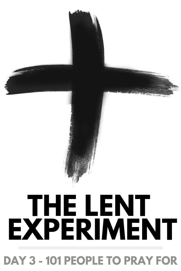 lent day 3 - prayer 2020 lenten season