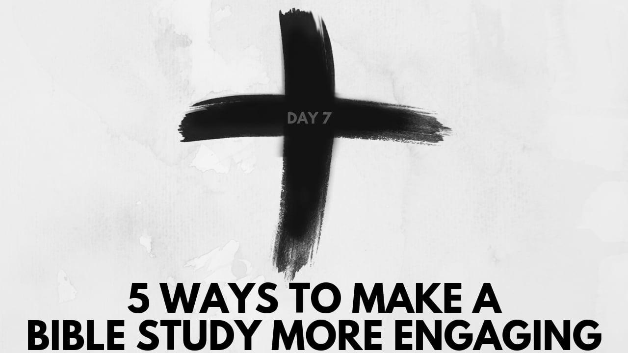 no more boring bible studies