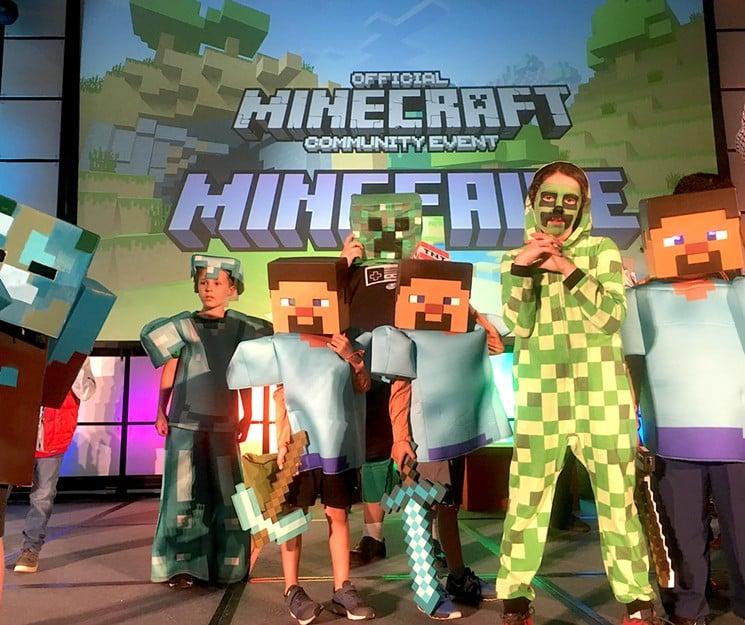 minefaire minecraft convention