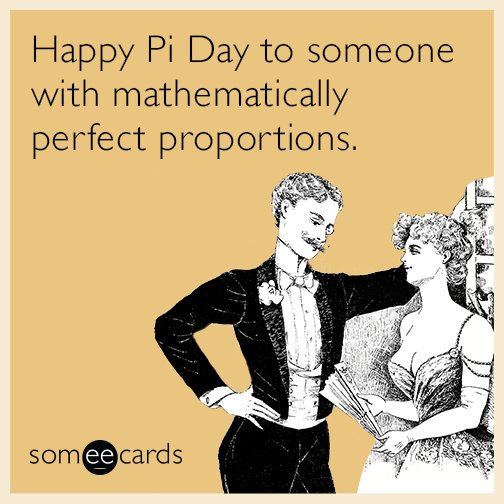 Happy Pi Day to Someone With Mathematically Perfect Proportions