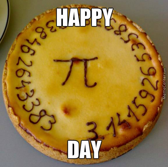 Happy Pi Day with a Pie