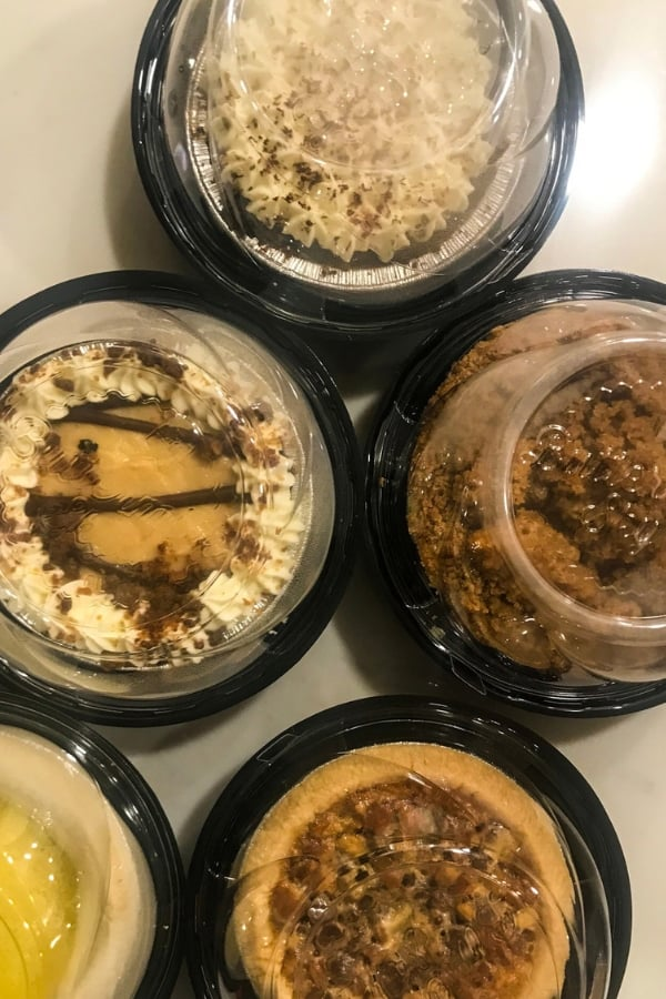 collection of pies to celebrate pi day