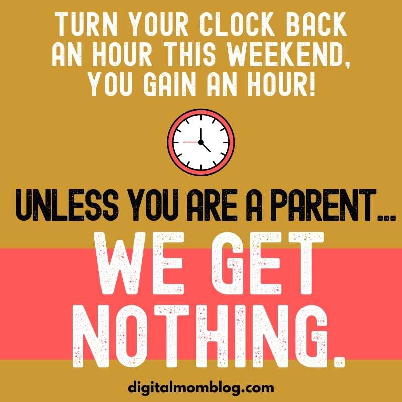 time change parent meme