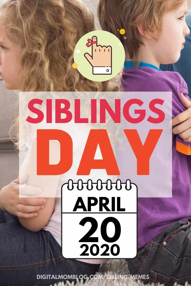 2020 date sibling day brother sister day