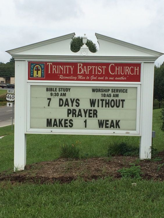 7 days without prayer makes one weak