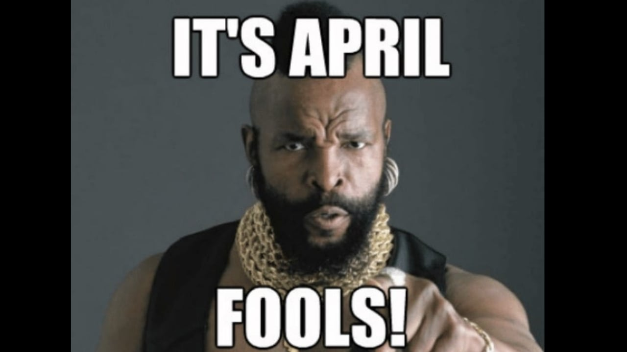 Best april fools day memes