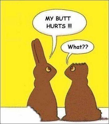 butt hurt easter bunny