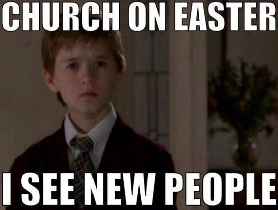 church easter lent meme