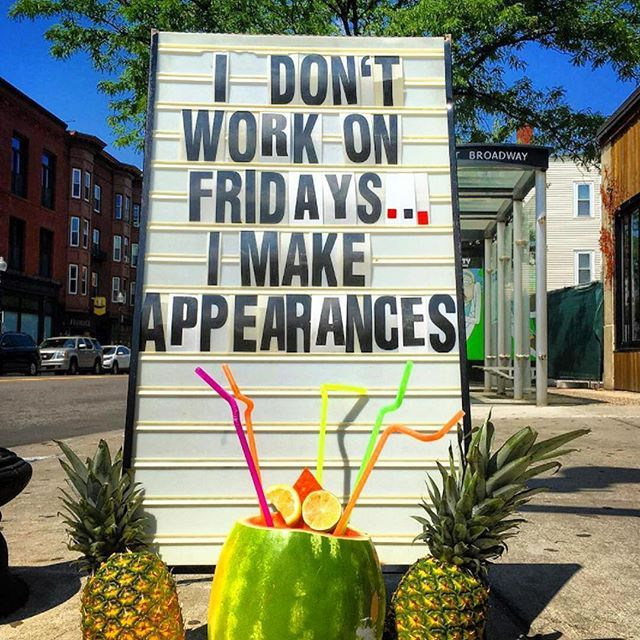 dont work on friday make appearances