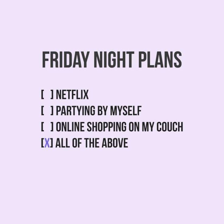 friday night plans