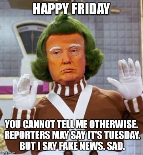 happy friday trump memes