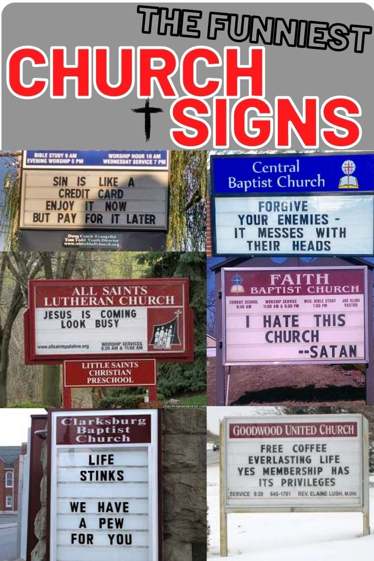 Funny Church Signs - Best Images of Church Billboards