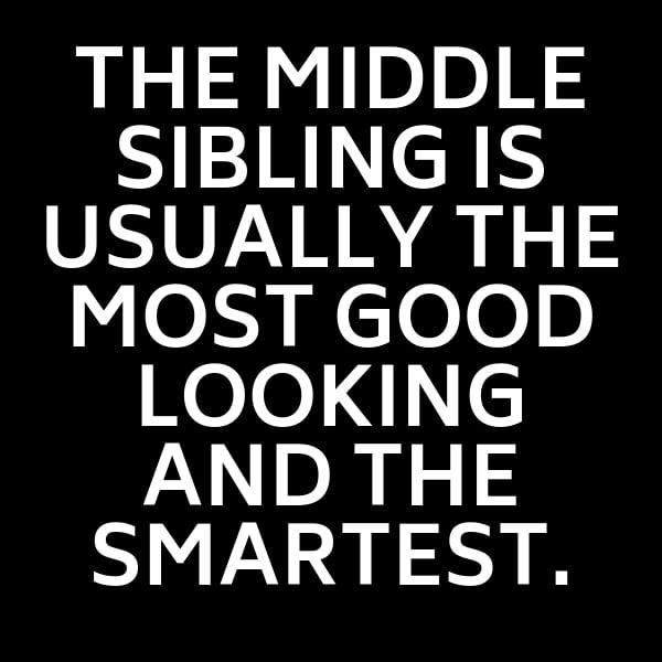 middle sibling meme