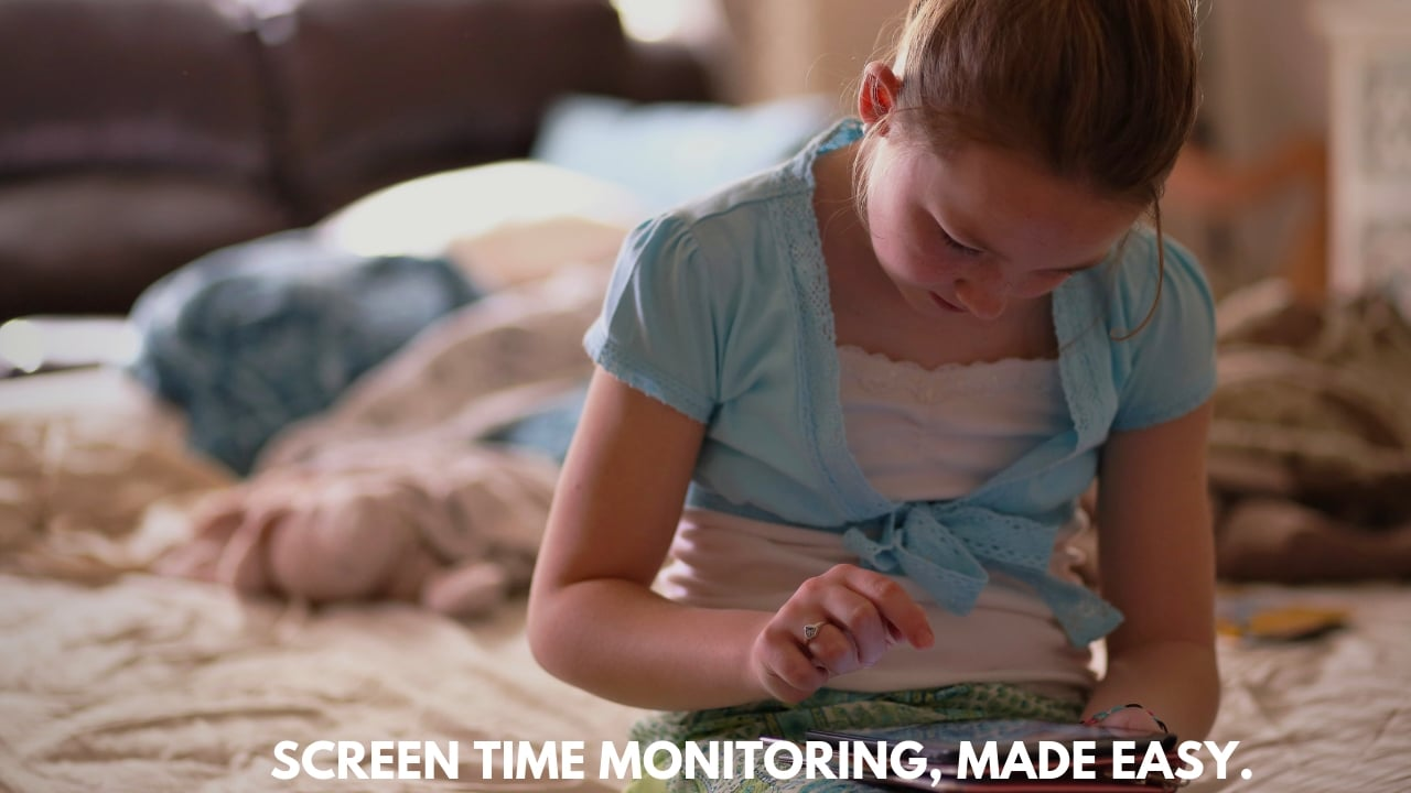 kids screen time monitoring and parental controls