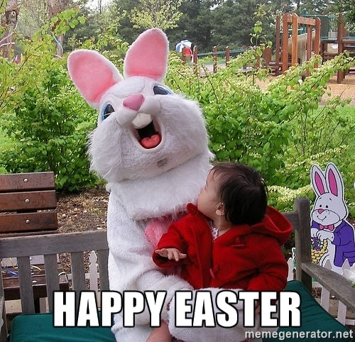 scary easter bunny images