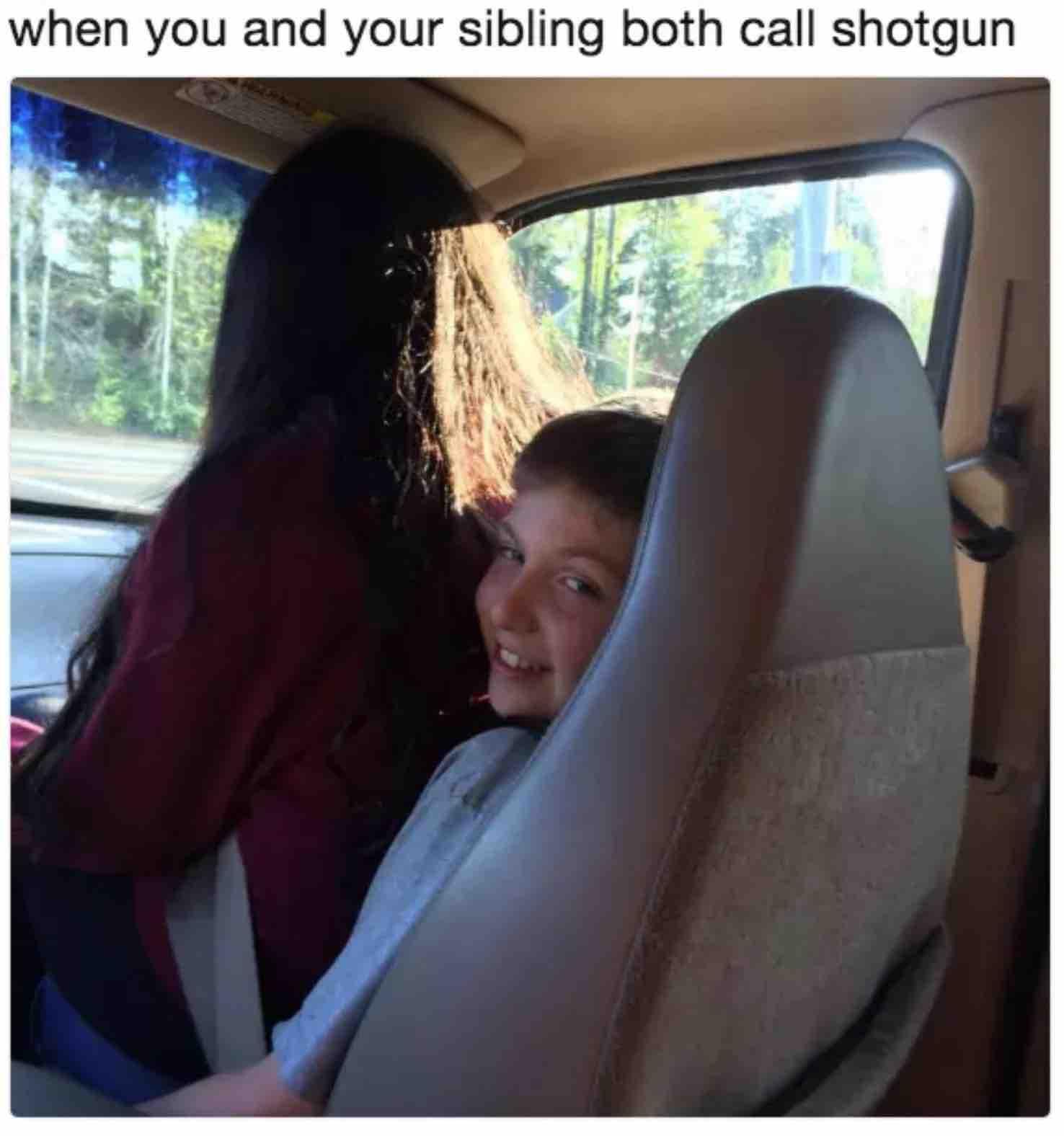 sibling meme shotgun
