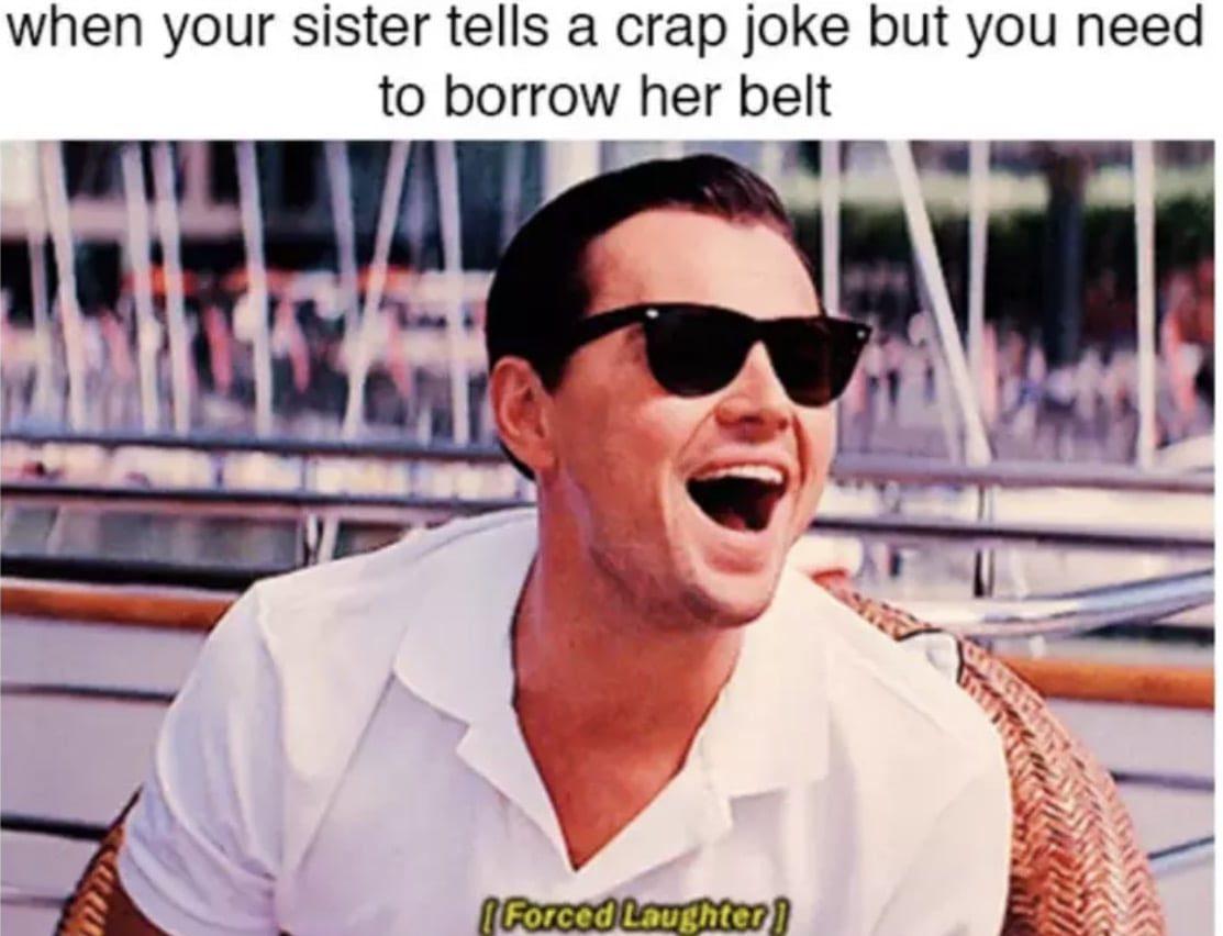 Leonardo dicaprio - sister memes