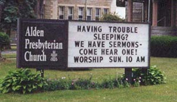 sleep-during-sermon