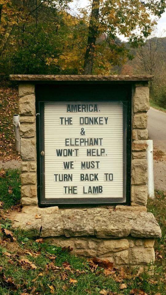 turn to the lamb