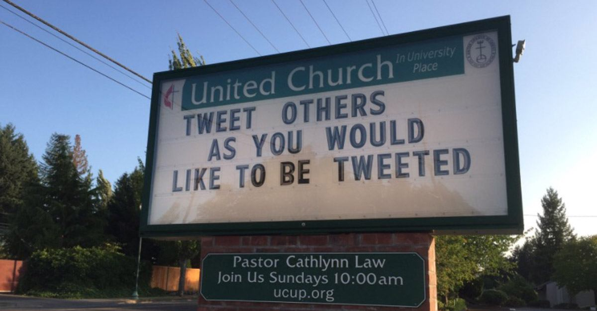 tweet others – church-sign-sayings