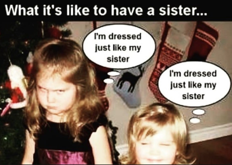 what its like to have a sister