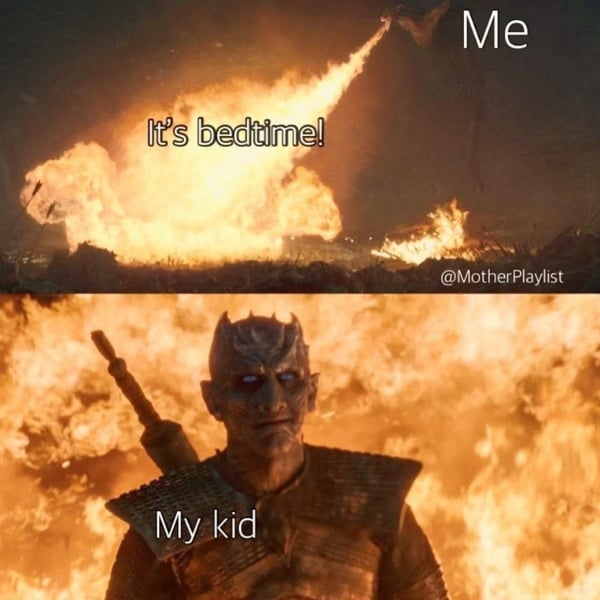 kids at bedtime bad mom meme
