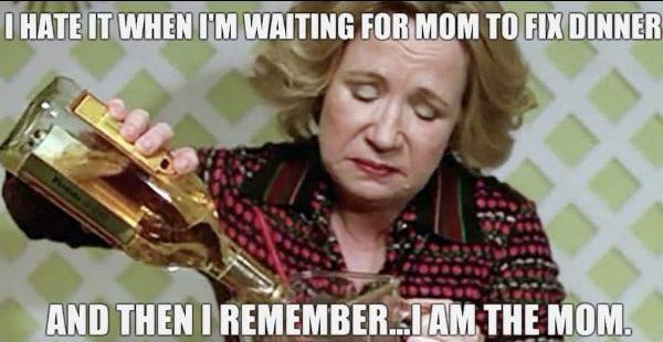 mom dinner meme